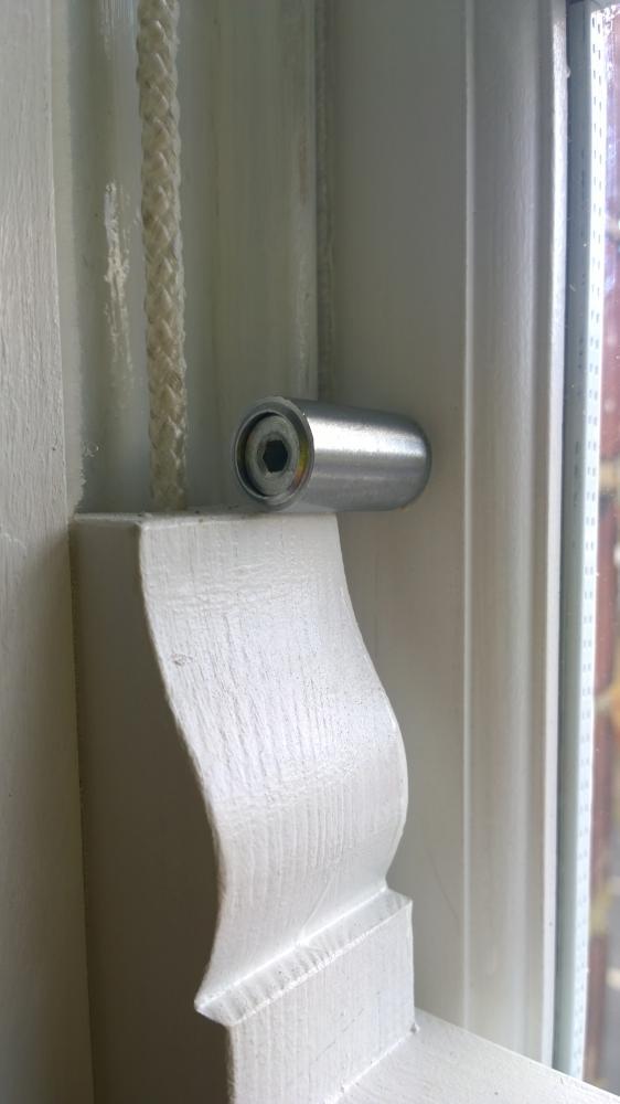 Child safety bolts on Sash Windows