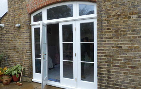 Tooting Bec Gardens SW16, French doors
