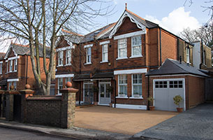 House with new sash windows bromley