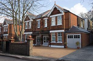 House with new sash windows croydon